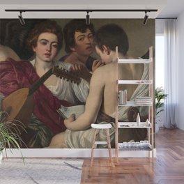 Merisi da Caravaggio - The Musicians Wall Mural