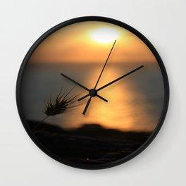 Peaceful Sunset Wall Clock