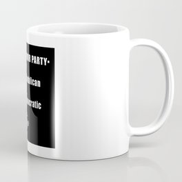 Vote For Toga Party Coffee Mug