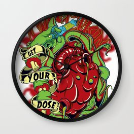 Get your dose Wall Clock