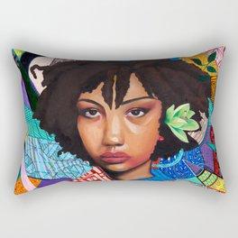 Patchwork of She Rectangular Pillow