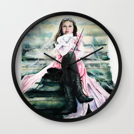 Stairwell Companions Wall Clock