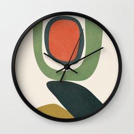 Abstract Shapes 32 Wall Clock