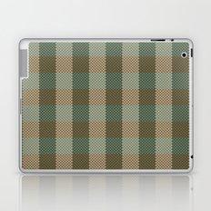 Pixel Plaid - Birch Forest Laptop & iPad Skin
