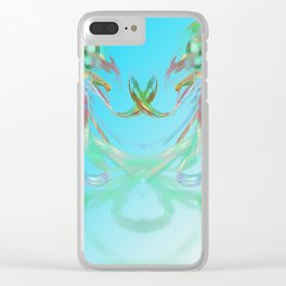 flower of love Clear iPhone Case