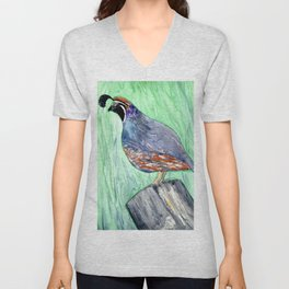 Quirky Fellow Unisex V-Neck