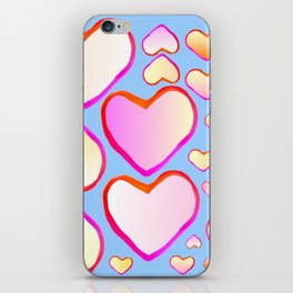 Heart of love iPhone Skin