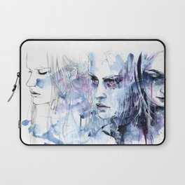 waves - to and fro Laptop Sleeve