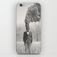 anxiety iPhone & iPod Skins featuring Anxiety by Alex Gregory Mears