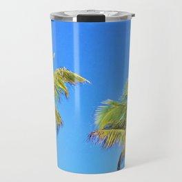 Bahamian Palms Travel Mug