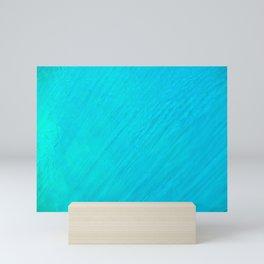 Turquoise Marble River Mini Art Print