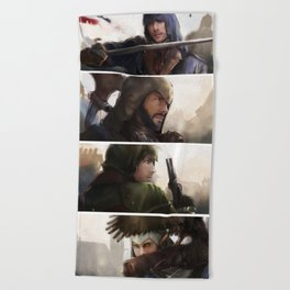 Assassin's Creed unity Beach Towel