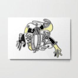 Jelita Rysunek #2 Metal Print