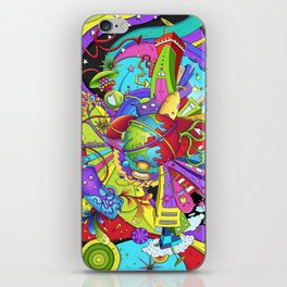 Out of Space by dana alfonso iPhone Skin