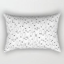 Friendly Ghosts (o.O) Rectangular Pillow