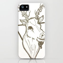 Little Deer Deer iPhone Case