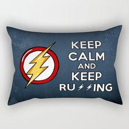 Flash Keep Running Rectangular Pillow