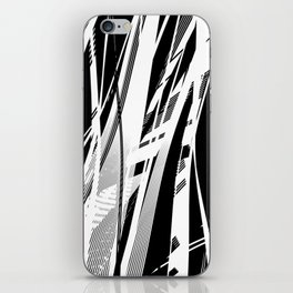 Catched in Circles iPhone Skin