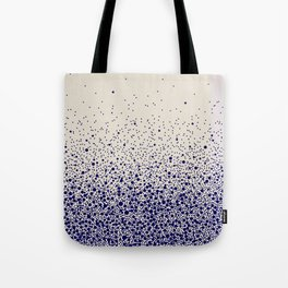 Elevation bleu nuit fond beige - Estelle Mademoiselle Atelier Tote Bag