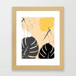 monstera 002 Framed Art Print