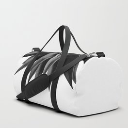 Agave fringe - noir Duffle Bag