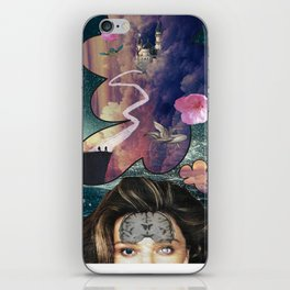 crazy thoughts iPhone Skin