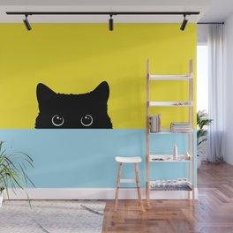 Kitty Wall Mural