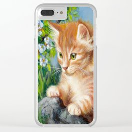Nosy Clear iPhone Case