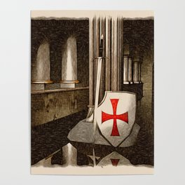 The Lost Templar Poster