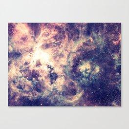 Tarantula Nebula Deep Pastels Canvas Print