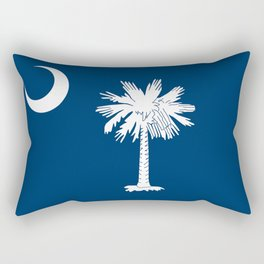 Flag of South Carolina - High Quality image Rectangular Pillow