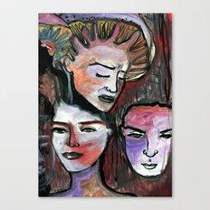 Amantes, ementes Canvas Print