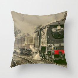 Lancashire Bulleid Throw Pillow