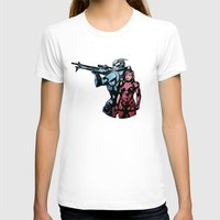 garrus T-shirts featuring No Shepard Without Vakarian by Weissidian