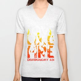 Love Like Fire Unisex V-Neck