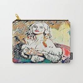 Drawing Room Carry-All Pouch