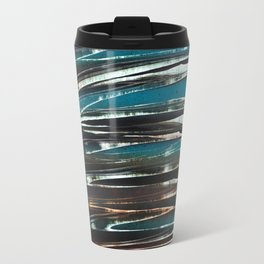 Wave Abstract Travel Mug