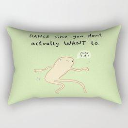Dance Motivation Rectangular Pillow