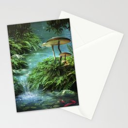 Enchanted Pond Stationery Cards