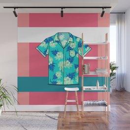 Hawaiian Shirt Wall Mural