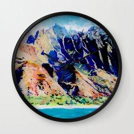 Na Pali Coast Wall Clock
