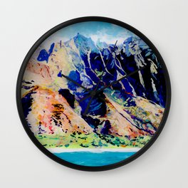Na Pali Coast Wall Clock