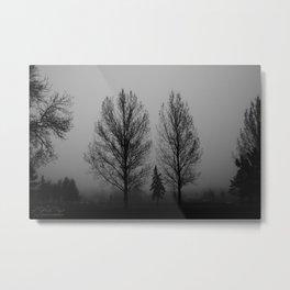 Fog-Bound Metal Print