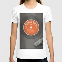 new year T-shirts featuring New Year by theartdepartment
