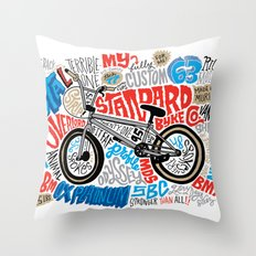 All My Bikes: STA-L Throw Pillow