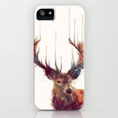 Red Deer // Stag Slim Case iPhone (5, 5s)
