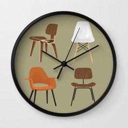 Eames Design Wall Clock