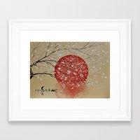 japan Framed Art Prints featuring Japan by Japan Art