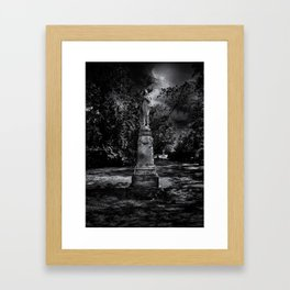 Tombstone Shadow No 2 Framed Art Print