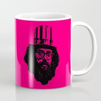 literature Mugs featuring Outlaws of Literature (Allen Ginsberg) by Silvio Ledbetter